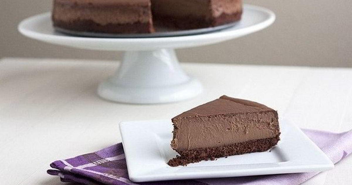море шоколадный чизкейк без выпечки рецепт с фото пенсионер донецка отказался