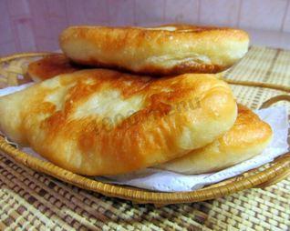 Пирожки в масле жареные на воде