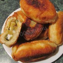 Рецепт Пирожков жареных на дрожжах на сковороде